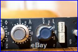 Vintage Neve 1073 Microphone Preamp RARE All Original and Fully Functional