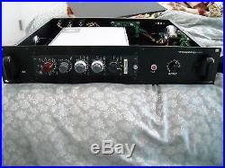 Vintage Neve 1073 microphone preamplifier preamp Rack mic pre di racked console