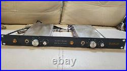 Vintage Neve 1272 racked by Brent Averill Dual Mic Pre