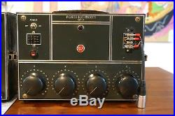 Vintage RCA OP5 OP6 OP7 Collection Tube Preamps Mixers