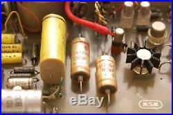Vintage Siemens/ WSW Uber Rare Channel Strip Mic PreAmp + EQ 1967