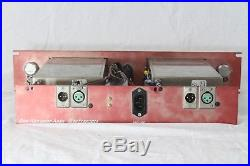 Vintage Telefunken Siemens V78 Tube Preamp Pair with Dan Alexander Chassis