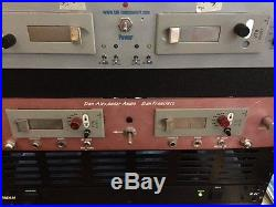 Vintage Telefunken V78 stereo mic preamplifier