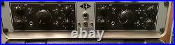 Vintage Universal Audio dual channel 2-610 tube microphone preamp