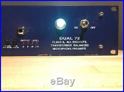Vintech Audio Dual 72 Mic Preamp NEVE 1272! @LOOK! @