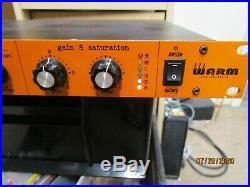 WARM AUDIO TONE BEAST TB12 Microphone PreAmp Orange pre owned No reserve