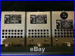 WSW Siemens 811 301 preamps pair power supply and custom rack, Vintage studio