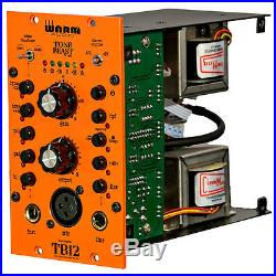 Warm Audio TB12/500 500 Series Tone Beast Rack Format Microphone Preamp DI