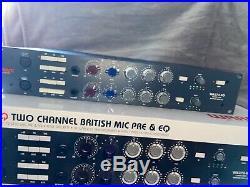 Warm Audio WA273-EQ Dual-Channel Microphone Preamplifier and Equalizer #WA273EQ