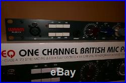 Warm Audio WA73-EQ 1-Channel British Microphone Preamp & EQ EXCELLENT