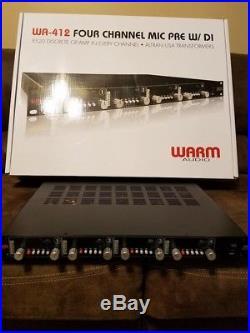 Warm Audio WA-412 Four Channel Microphone Preamp