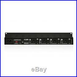 Warm Audio WA-412 Microphone Preamp 4-Ch with DI Hi-Z Inputs Balanced Outputs
