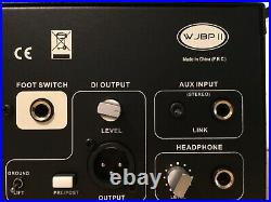 Wayne jones audio WJBPII tube bass preamp/eq and compressor, open